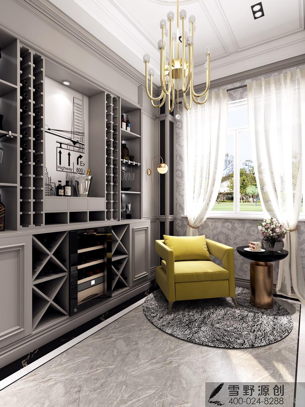 卡娜迪木门抓买点设计-高端木门店专卖店设计-高端店面设计-整木定制案例欣赏-欧式整木设计-