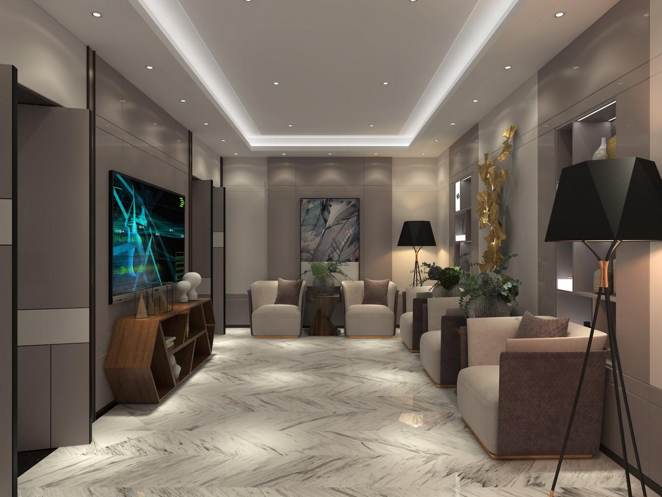 卡娜迪木门抓买点设计-高端木门店专卖店设计-客厅设计-整木定制产品开发设计-整木定制案例欣赏-