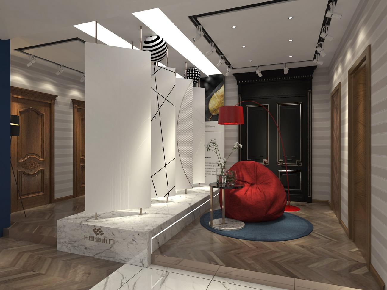 卡娜迪木门抓买点设计-高端木门店专卖店设计-木门促销活动方案-木门活动方案设计-木门店面设计-