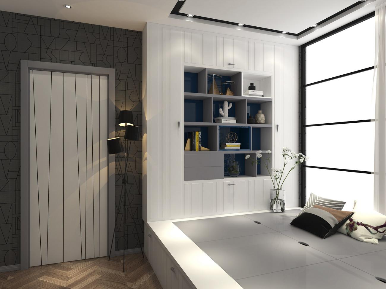 卡娜迪木门抓买点设计-高端木门店专卖店设计-整木定制案例欣赏-整木定制产品开发设计-