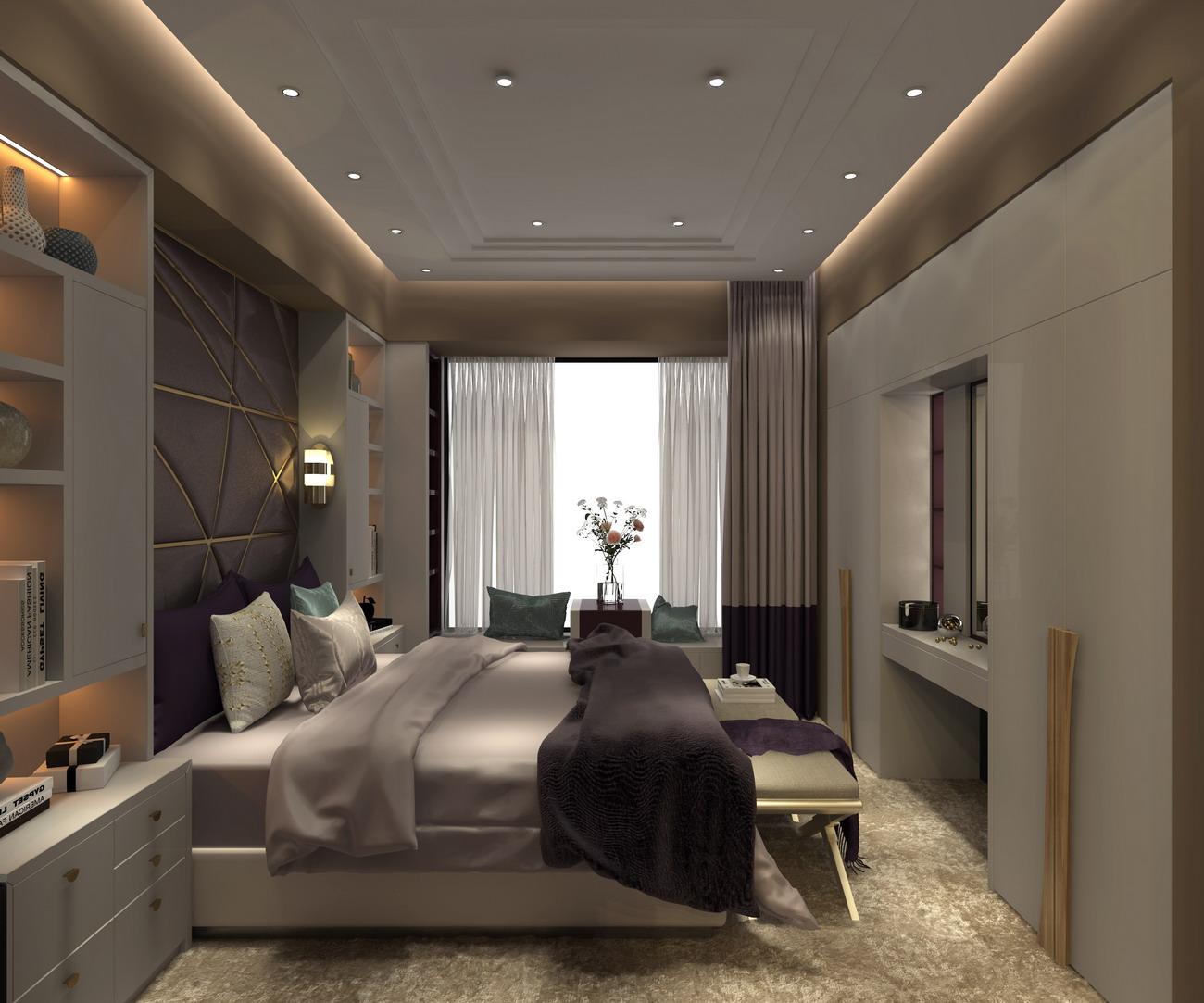卡娜迪木门抓买点设计-高端木门店专卖店设计-卧室设计-整木定制产品开发设计-整木定制店面方案-