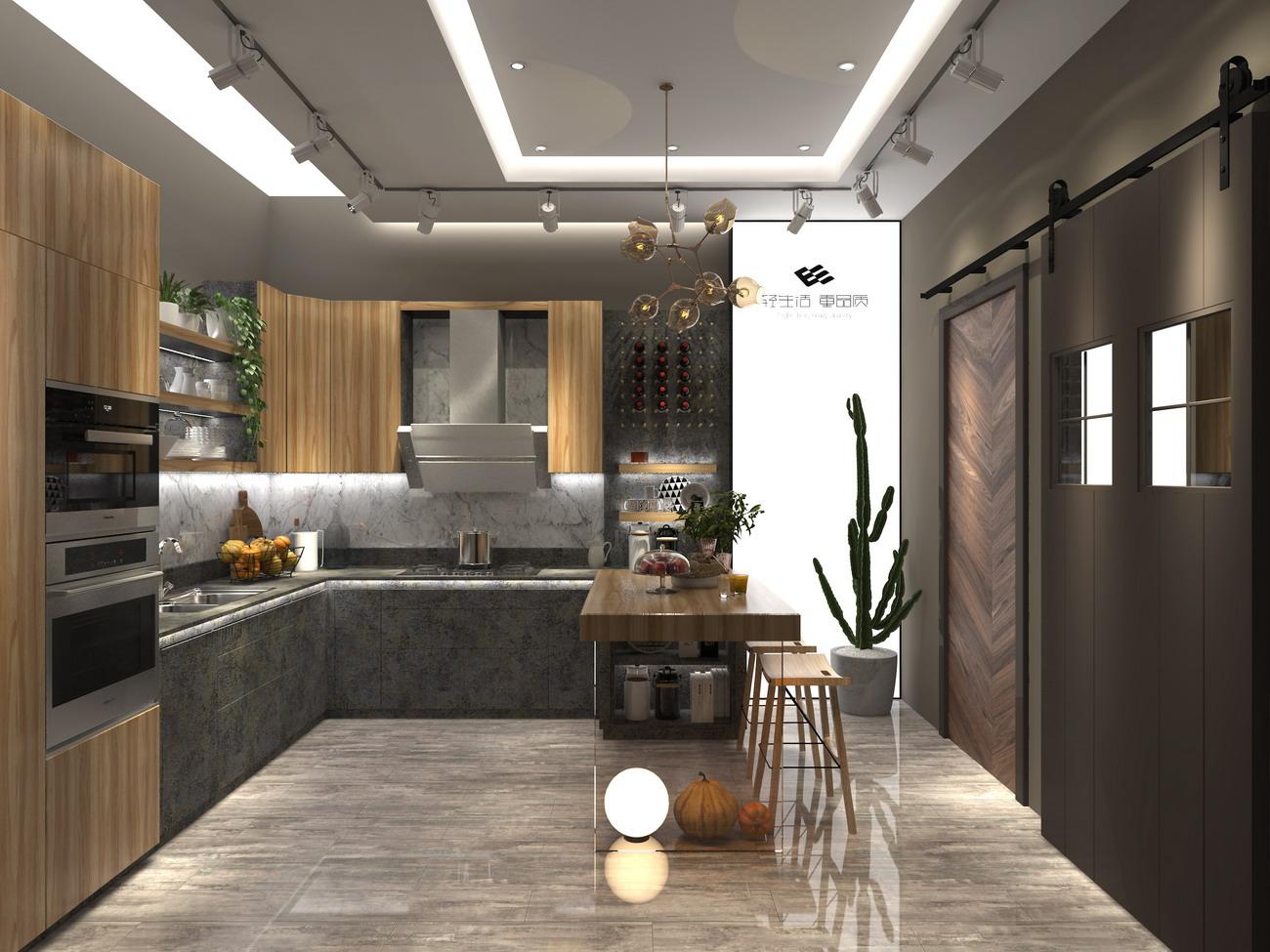 卡娜迪木门抓买点设计-高端木门店专卖店设计-橱柜设计-整木定制店面方案-高端店面设计-